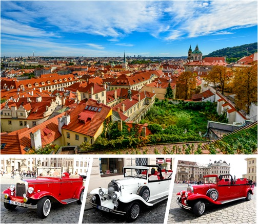 private oldtimer tour in vintage cabriolets sightseeing in prague