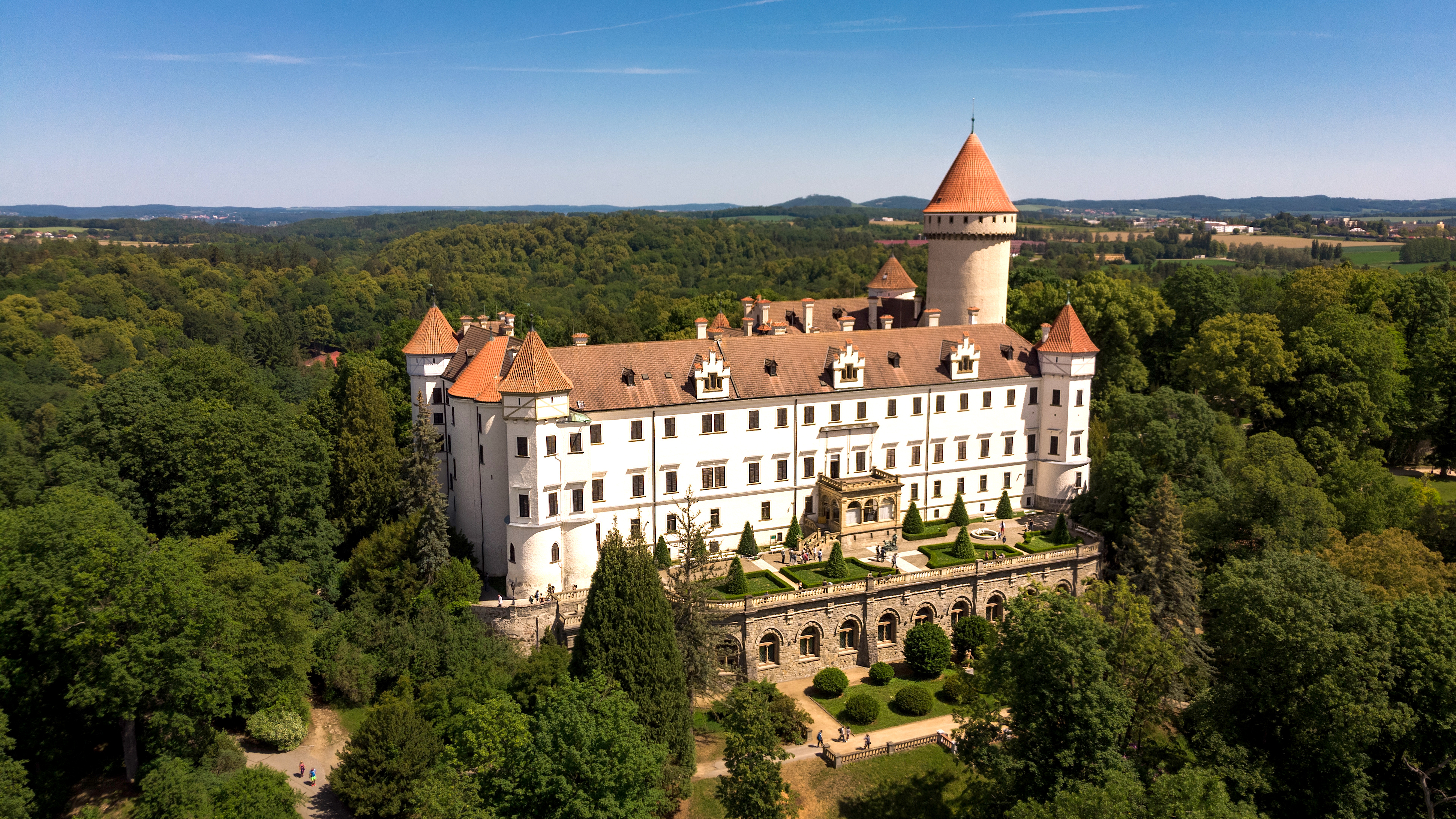 Konopiste Chateu, castle, daytrip from prague, czech republic, hidden gem, private trip, english speaking local