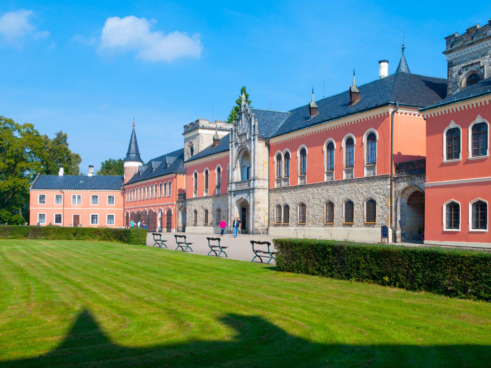 Sychrov Castle, Czech Republic, history, fun out of prague, local driver
