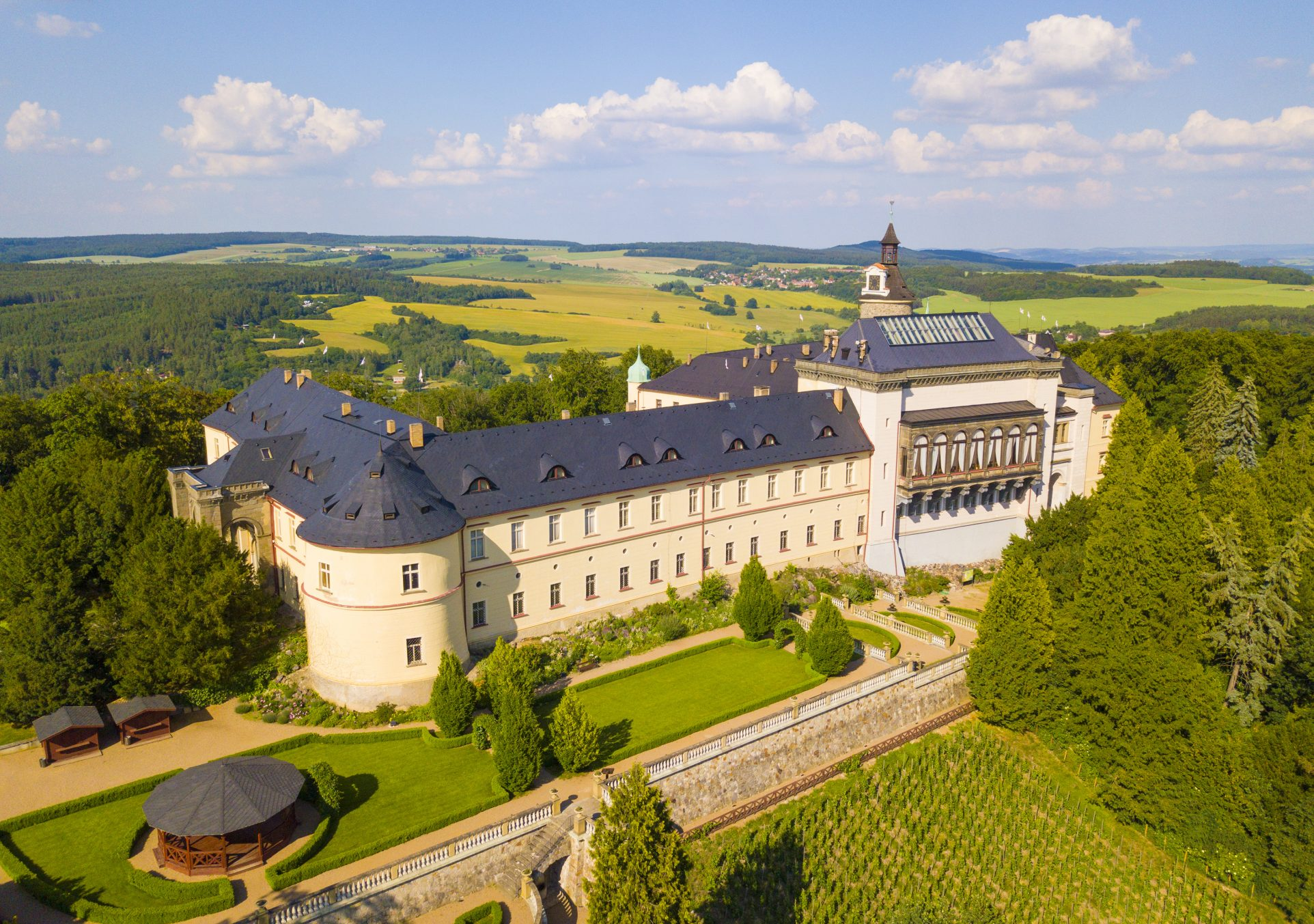 chateau Zbiroh, gothic sight, czech republic, trip, tour, english speaking