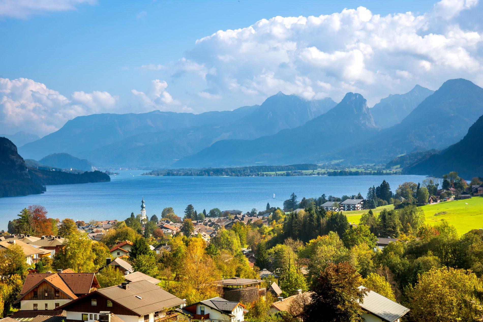 Sankt Gilgen, Wolfgangsee, Austria, Salzburg daytrip, local driver, travel experience