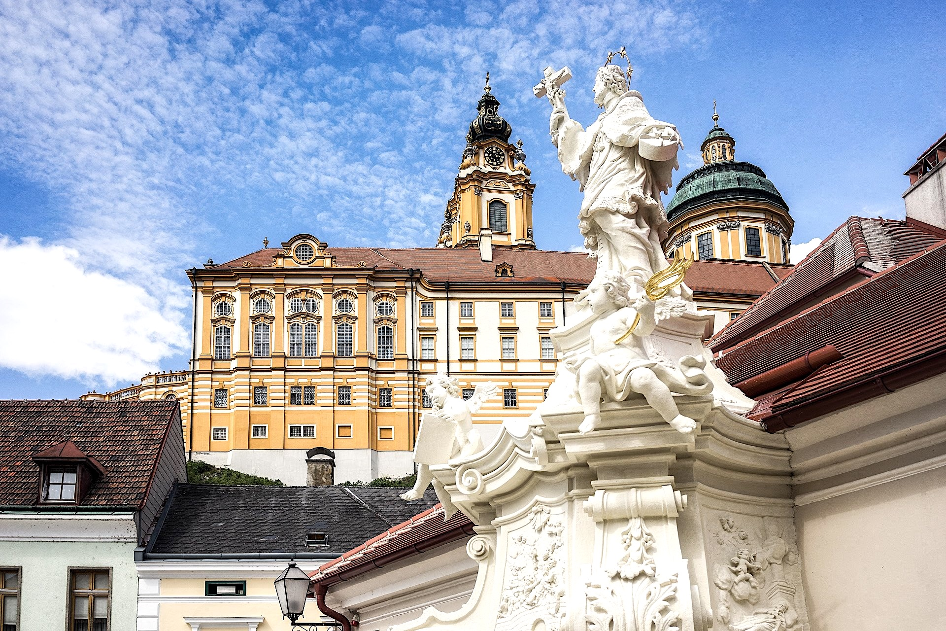 Melk, Austria, history, architecture, baroque, daytrip, private tour, local guide
