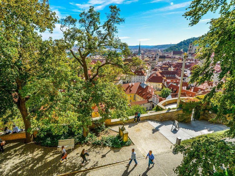 Private Walking tour in prague food and history